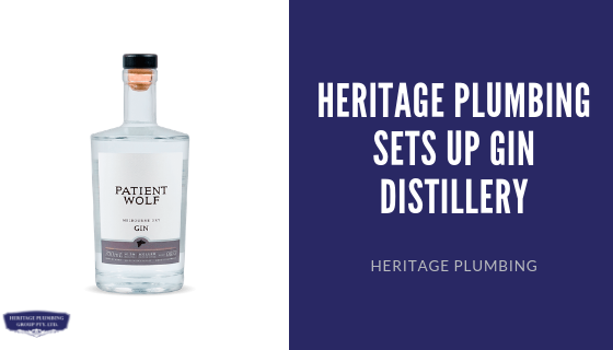 Heritage Plumbing Sets Up Gin Distillery