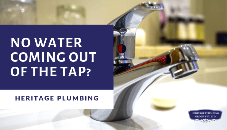 No Water Coming Out Of The Tap How To Fix 10 Tips