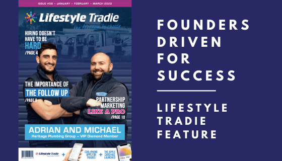 Founders Driven for Success: Lifestyle Tradie Feature