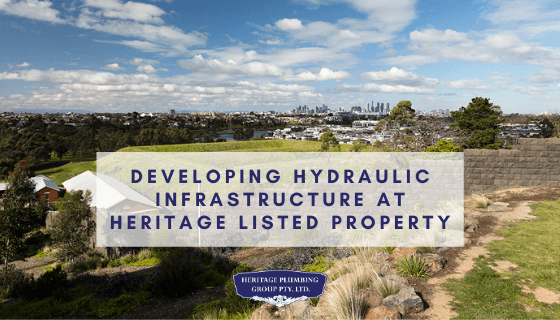 Developing hydraulic infrastructure