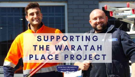 Supporting the Waratah Place Project Melbourne CBD